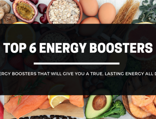 Top 6 Energy Boosters