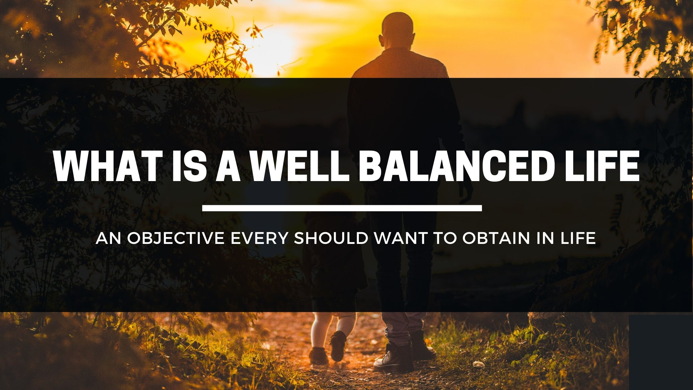 What is a Well Balanced Life - HTD Worldwide